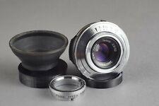 Carl Zeiss Tessar 1:2,8/50mm Outfit, für M42 | Vintage lens