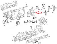 MB GL-CLASS X164 EGR Valve Motor Actuator A6421500494 3.0 Diesel NEW GENUINE