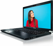 "Toshiba Tecra R950 Laptop Computer 15.6"" LED Intel i3 8GB RAM 500GB Windows 10"