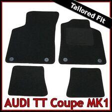 Audi TT Coupe Mk1 1998-2006 Tailored Fitted Carpet Car Floor Mats BLACK