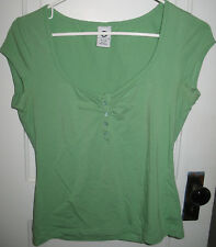 Ellemenno Green Short Sleeve T-Shirt Tee Top Size Medium M 7 / 9