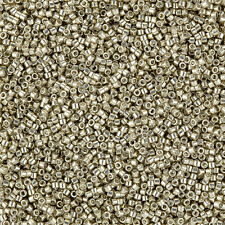 Miyuki Delica Seed Beads Size 11/0 Galvanized Pewter DB436 7.2g