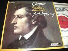 CHOPIN°4 SCHERZI<>ASHKENAZY<>LP Vinyl~Neth. Pressing<>LONDON FFrr CS 6562