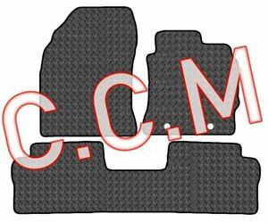 TOYOTA AURIS 2013-2019 Taxi version TAILORED CAR MATS IN 3MM & 5MM Thick RUBBER