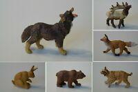 Schleich 17002 Authentics Safari Raritäten Wald Wild Tiere nur 1993 im Handel