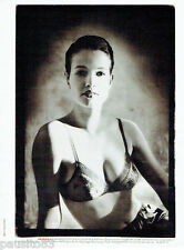 PUBLICITE ADVERTISING 115  1988  LOU soutien gorge photo CHRISTIAN KETTIGER