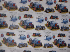 DEXTA TRACTOR DESIGN GIFT WRAP WRAPPING PAPER