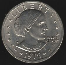 More details for 1979 s u.s.a. susan b. anthony dollar | world coins | pennies2pounds