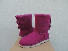 UGG MEILANI LONELY HEARTS BAILEY SUEDE BOW SHEEPSKIN BOOTS, US 10/ EUR 41 ~NIB