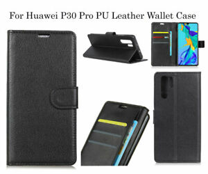 Flip PU Leather Card Slot Wallet Case Cover for Huawei P30