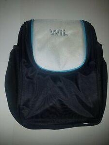 Official Wii Deluxe Game Traveler Carrying Case Bag Shoulder Strap