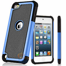 For Apple iPod Touch 6 6th Gen TPU Hybrid Defender Armor Shockproof Case Cover