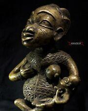 Old Fine Bamileke Maternity Figure - Cameroon