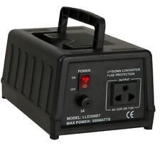 300W USA SPANNUNGSWANDLER 230/220V auf 110V Stromwandler Wandler stepdown NEU