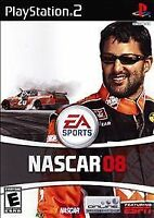 NASCAR 2008 - PlayStation 2, Acceptable PlayStation2, Playstation 2 Video Games