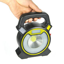 Portable 15W LED Flood Light USB Rechargeable Yard Security Work Lamp Outdoor