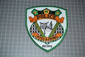 Waterbury Connecticut Police Pipes & Drums Patch (B17-8)