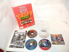 TOSHINDEN , EARTHWORM JIM, SSF2T, CHAOS CONTROL pc big box game TMF ACTION