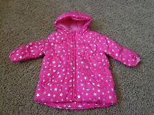 CHILDREN'S PLACE brand girl's sz 6-9 months NWT pink w/stars puffer jacket