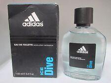 ICE DIVE By Adidas Eau De Toilette Spray 3.4 oz 100 ml - DAMAGED BOX