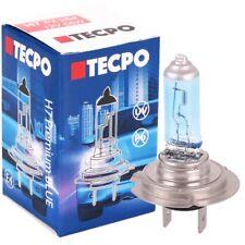 TECPO H7 Glüh-Birne Premium 12V 55W PX26d Xenon Optik KFZ Autolampe Weiss Blau