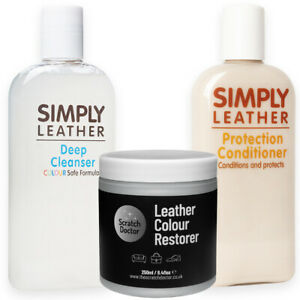 GREY Leather Cleaner, Conditioner & Restorer for Sofa, Bags, Shoes, Jackets etc
