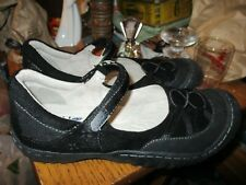 WORN ONCE JBU by Jambu Womens Mary Jane Sneakers Size 9M BLACK  STRAPPY Shoes