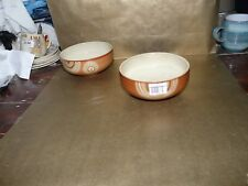 "denby fire chilli cereal / soup bowl brand new 6"" diameter"