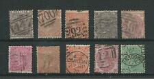 GB 1855-80 selection of SP to 1/- incl. SG66, 70, 80, 85, 92 & 117 etc good used