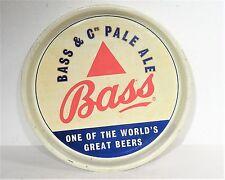 Alte Bier Werbung Blech Tablett original Werbung Bass Pale Ale English Beer
