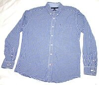 Tommy Hilfiger Mens Long Sleeve Button Down Shirt Size Large