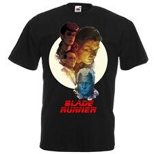 BLADE RUNNER Movie Poster T shirt Black White . Natural all sizes Harrison Ford