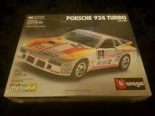 Burago 1/25 Porsche 924 Turbo Great Condition Sealed Metal Kit Very Rare