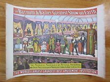 Original 1960 RINGLING BROS and BARNUM & BAILEY CIRCUS World Museum Poster