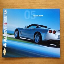 2005 Chevy Chevrolet  Cars and Trucks An American Revolution Brochure