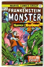 Frankenstein #15 Trapped in a Nightmare! Marvel Comic Book ~ Vf