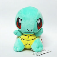 "Pokemon Figure Stand Squirtle Stuffed Animal Plush Doll Toy 6"" US SHIP"