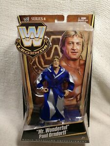 "Mattel WWE/WWF Legends Series 4 ""Mr. Wonderful"" Paul Orndorff"