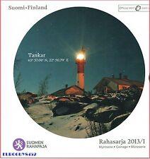 FINLAND - BU SET 2013 - RAHASARJA I - 8 MUNTEN + PENNING