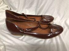 BCBG MAXAZRIA SHOES flats shiny Leather ballet Size: 9/39