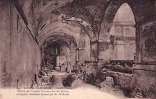 SAINTE-COLOMBE-LES-VIENNE 824 cloître de l'ancien couvent des cordeliers timbrée