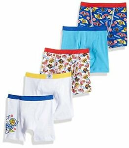Nickelodeon Toddler Boys' Paw Patrol 5 Pack Boxer, Assorted Prints, Size 0.0 zjj