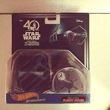 2017-Hot Wheels-40th Star Wars Darth Vader's Tie Advanced X1 Prototype-1:64-4+