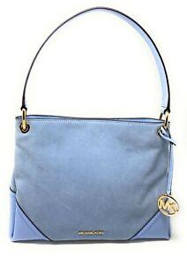 Michael Kors Nicole Medium Shoulder Leather Suede Bag Shoulder Bag