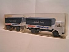 WIKING HO (1/87)  -  CAMION MAN + REMORQUE PLATEAU BÂCHES ref. 424