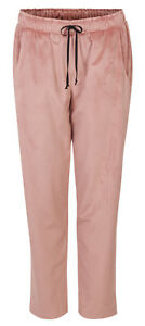 Shirtaporter Samt Hose Tunnelzug rosé Jogging IT 42 D 36 S NEU * 61349