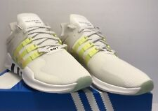 Adidas Womens Size 11 EQT Support ADV White Yellow Athletic Running Shoes New
