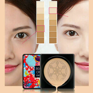 Mushroom CC Makeup BB Cream Foundation + Cushion Head Concealer Air Moisturizing