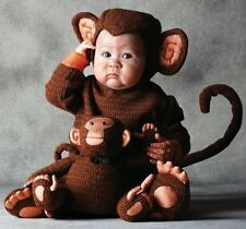 TOM ARMA SIGNATURE COLLECTION MONKEY COSTUME 18-24 mo 2T + TOY Halloween