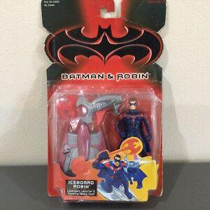 """1997 Batman & Robin """"Iceboard Robin"""" Battle Action Figure Kenner NIP"""